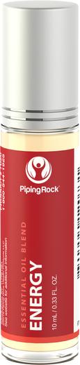 Mélange roll-on aux huiles essentielles énergétiques 10 mL (0.33 fl oz) Flacon à bille