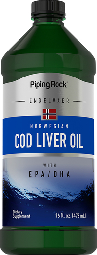 Cod Liver Oil Plain Norwegian  16 fl oz