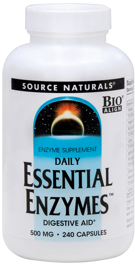 Essential Enzymes Digestive Aid, 240 Capsules