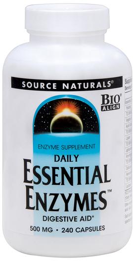 Niezbędne enzymy trawienne 240 Kapsułki