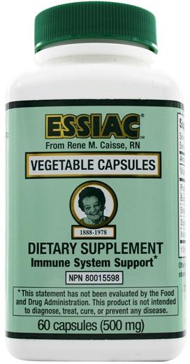 Essiac Herbal 500mg 60 Vegetarian Capsules