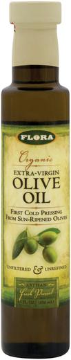Oliwa z oliwek extra virgin (Organiczna) 8.5 oz Butelka