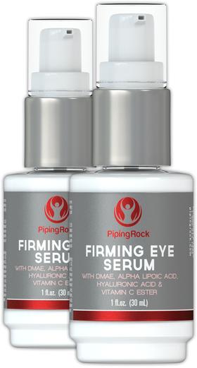 Soro refirmante para os olhos + alfa-lipóico, DMAE, ésteres de Vitamina C, 1 fl oz (30 mL) Frasco doseador, 2  Frasco pump