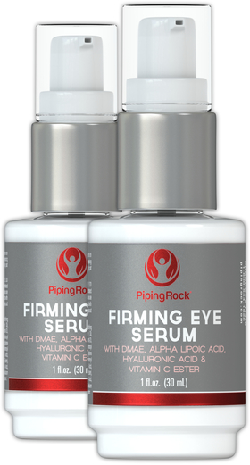 Eye Firming Serum + Alpha Lipoic, DMAE, Vitamin C Esters 2 Pump Bottles x 1 oz