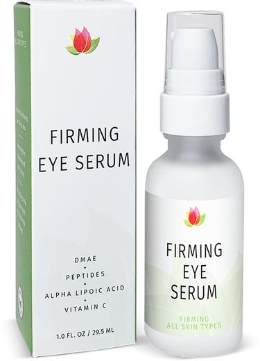 Firming Eye Serum (DMAE, Peptides, ALA, Vitamin C), 1 fl oz