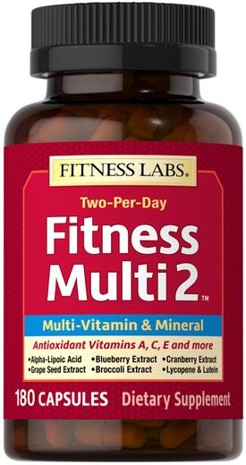 Fitness Multi 2, 180 Capsules