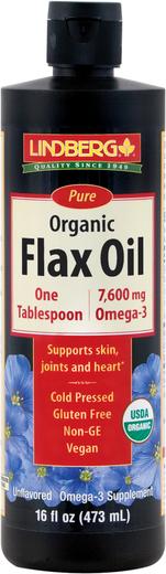 Flax Oil Liquid (Organic)