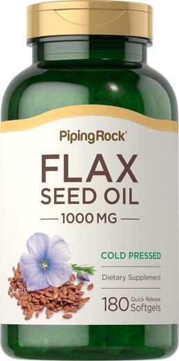 Flaxseed Oil 1000mg 180 Softgels