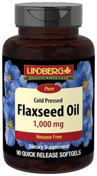 Flaxseed Oil 1000 mg, 90 Softgels