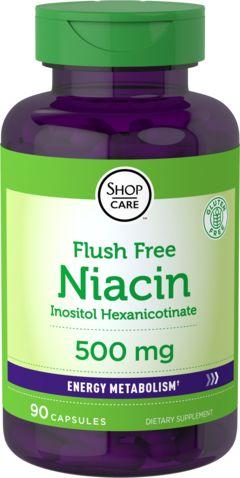 Niacina sem vermelhidão  90 Cápsulas