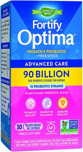 Probiotyk dla kobiet Fortify Optima 30 Kapsułki wegetariańskie