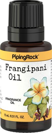 Óleo perfumado de frangipani, 1/2 fl oz (15 mL) Frasco conta-gotas