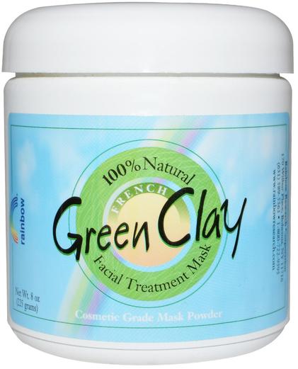 French Green Clay Powder, 8 oz (227 g)