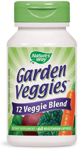 Warzywa ogrodowe 60 Kapsułki wegetariańskie