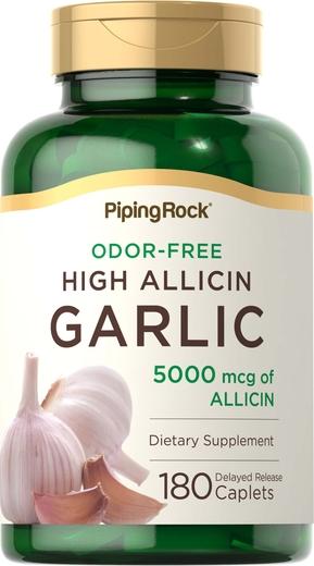 Garlic High Allicin, 180 Tablets