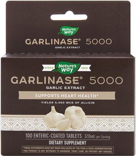 Wyciąg z czosnku Garlinase 5000 100 Tabletki w powłoce kwasoodpornej