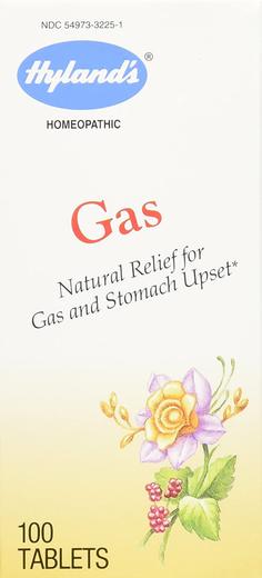 Formuła homeopatyczna problemy żołądkowe na gazy i niestrawność 100 Tabletki do żucia