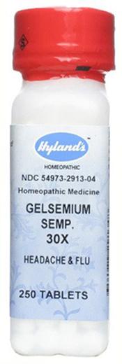 Gelsemium Sempervire 30xHomeo Dor de Cabeça e Gripe 250 Comprimidos