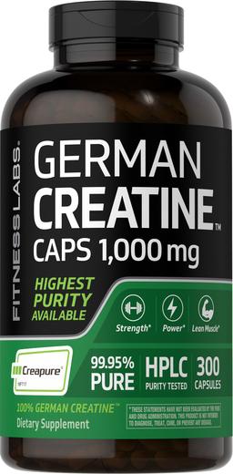 Niemiecka Monohydrat kretyny (Creapure) 300 Kapsułki