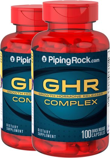 GHR Complex (Growth Hormone Releaser) 2 Bottles x 100 Capsules