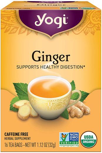 Herbata imbirowa (Organiczna) 16 Torebki do herbaty