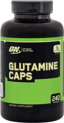 Glutamine Caps, 500 mg, 240 Caps