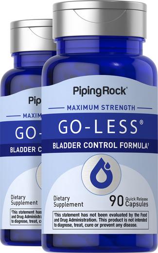 Go-Less Bladder Control Formula, 90 Capsules x 2 Bottles