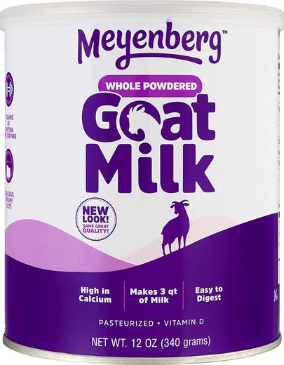 Pó de leite de cabra, 12 oz (340 g) Recipiente