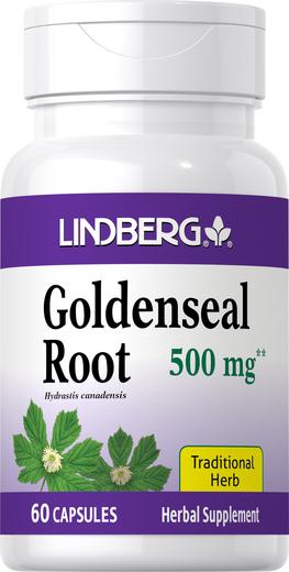 Goldenseal Root 500 mg, 60 Caps