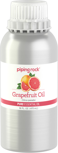 Grapefruit (Pink) Pure Essential Oil (GC/MS Tested) 16 fl oz (473 mL) Canister