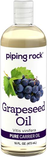 Óleo de grainhas de uva, 16 fl oz (473 mL) Frasco