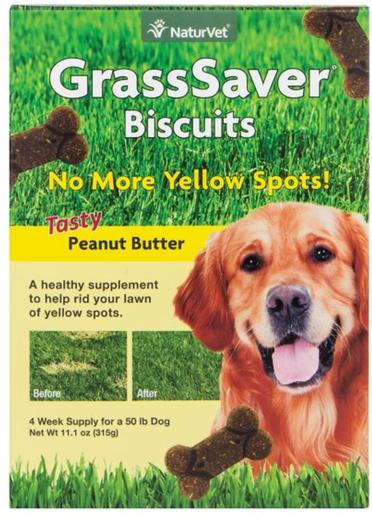 Naturvet Grasssaver Dog Biscuits 11.1 oz (315 g) Box