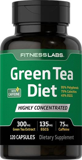 Dietetyczna zielona herbata z kofeiną 120 Kapsułki
