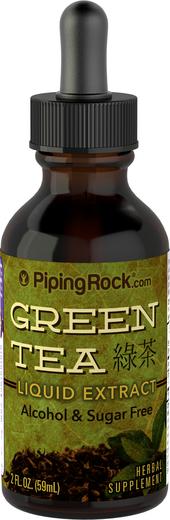 緑茶リキッド エキス 2 fl oz (59 mL) スポイト ボトル
