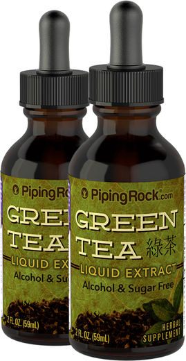 Green Tea Extract Liquid 2 x 2 fl oz (59 mL) Bottles
