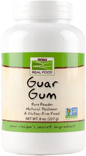 Pó de goma de Guar, 8 oz (227 g) Frasco