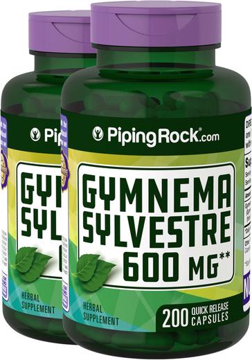 Gymnema Sylvestre 600 mg 2 x 200 Capsules