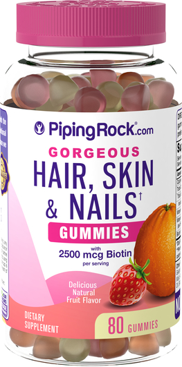 Hair, Skin & Nails Gummies 80 Count