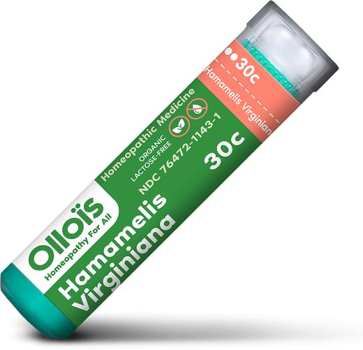 Hamamelis Virginiana 30c Homeopathic Formula for Varicose Veins & Hemorrhoids, 80 Pellets