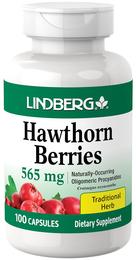 Hawthorn Berries 565 mg, 100 Capsules