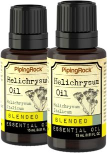 Helichrysum Essential Oil Blend 2 Dropper Bottles x 1/2 fl oz (15 ml)