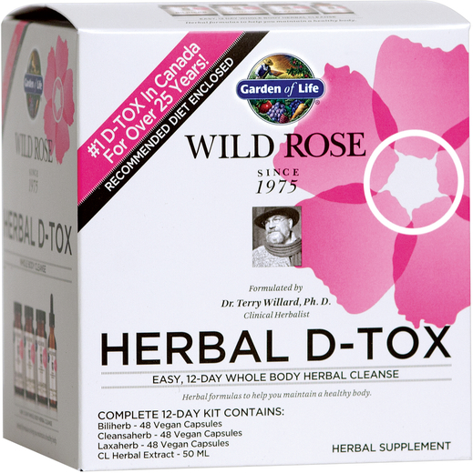 Herbal D-Tox Whole Body Cleanse Kit, 1 12-Day Kit