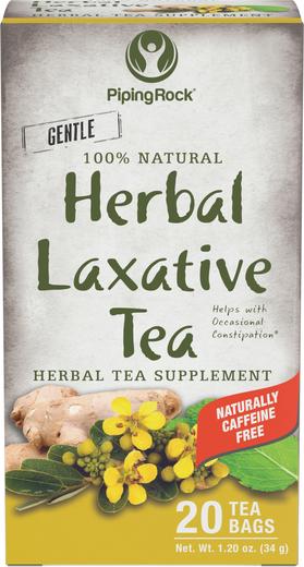 Chá Laxante Herbal, 20 Saquetas de chá