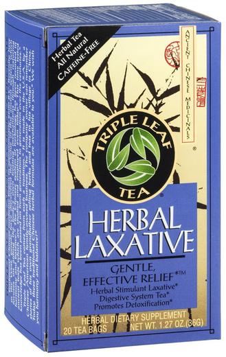 Triple Leaf Herbata przeczyszczająca 20 Torebki do herbaty