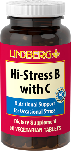 Hi-Stress B with C, 90 Tablets