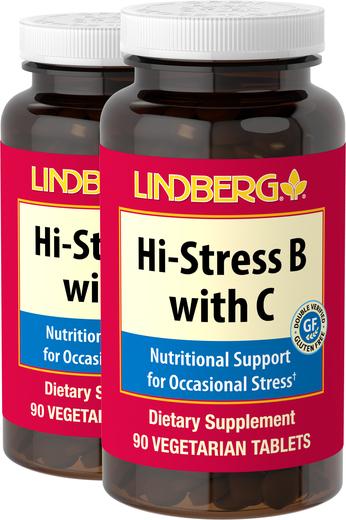 Hi-Stress B with C 90 Tabletki wegetariańskie