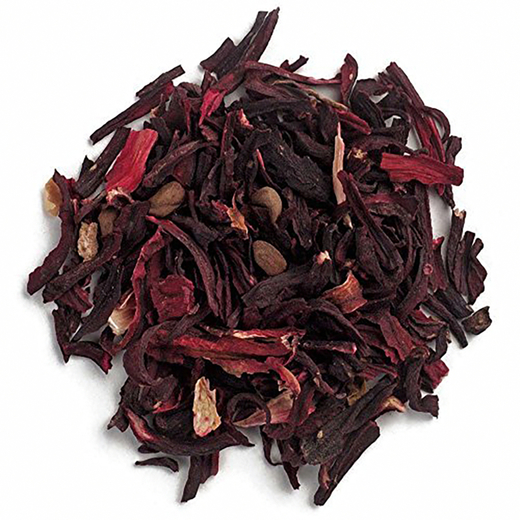 Hibiscus Flowers Cut & Sifted 1 lb (454 g) Bag