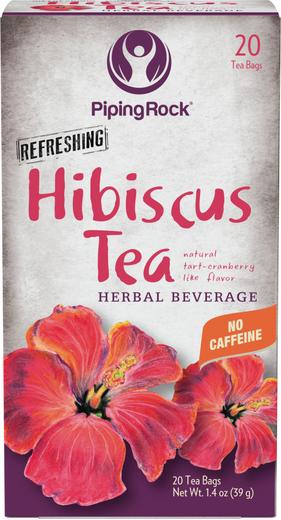 Chá de hibisco biológico, 20 Saquetas de chá