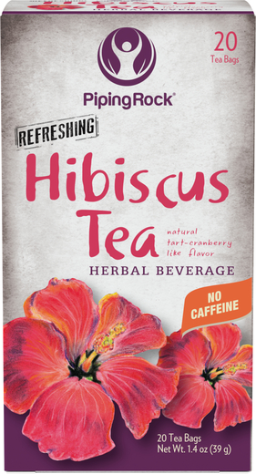 Hibiscus Tea Online Uses Benefits Piping Rock Health Products