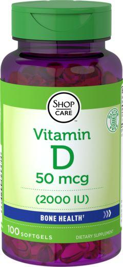 Vitamina D3 gran energía  100 Perlas